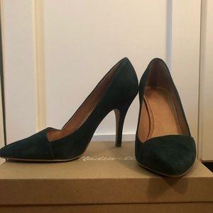 Madewell Mira Heel - Gallery Green